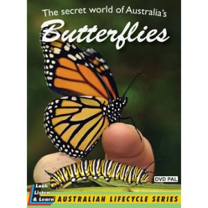 SECRET WORLD BUTTERFLIES DVD